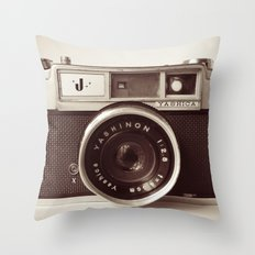 Camera Throw Pillow