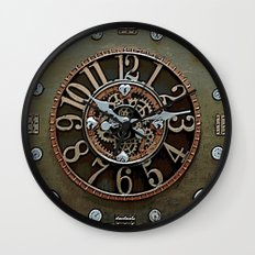 Steampunk Klokface Wall Clock
