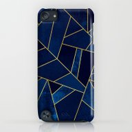 Blue Stone With Gold Lin… iPod touch Slim Case