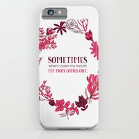 iPhone & iPod Case featuring My Mom Comes Out by Alyssa Bermudez
