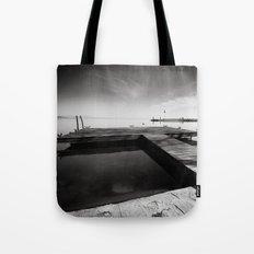 Balaton - Pier Tote Bag
