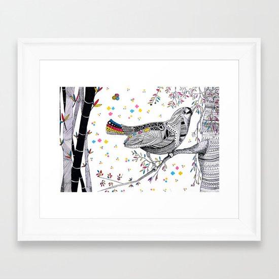 CHINA PRINT Framed Art Print