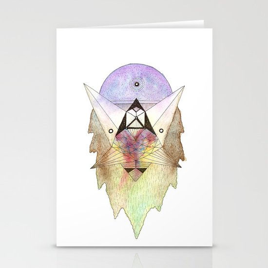 Perilous 1 Stationery Card