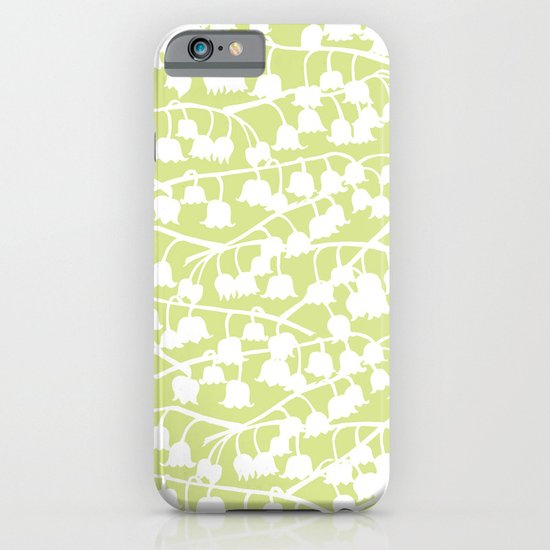 Lily of the Valley repeat iPhone & iPod Case