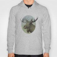 Moose head elk Hoody