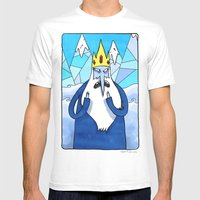 Ice King Mens Fitted Tee White SMALL
