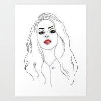 Club Queen Art Print