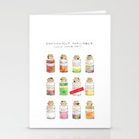 Emotionally Available Stationery Cards