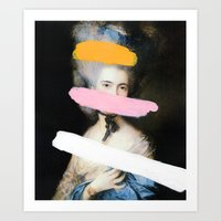 Art Print featuring Brutalized Gainsborough 2 by Chad Wys