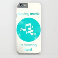 Playing Music is Freaking Hard. iPhone 6 Slim Case