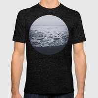 Out To Sea Mens Fitted Tee Tri-Black SMALL