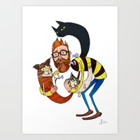 Don't Let The Kittah Coc… Art Print