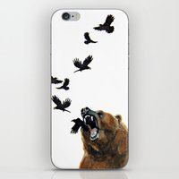 Sacred Outrage iPhone & iPod Skin