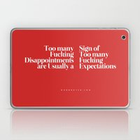 Disappointments Laptop & iPad Skin