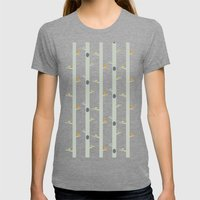 The Afternoon Womens Fitted Tee Tri-Grey SMALL