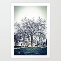 The Urban Giving Tree Art Print