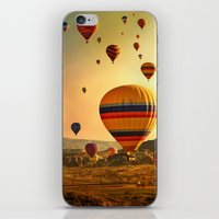 Sunrise in Cappadocia iPhone & iPod Skin