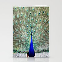 peacock Stationery Cards featuring Peacock by WhimsyRomance&Fun