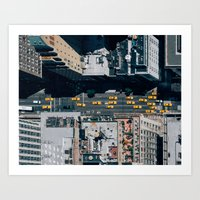 New York Taxi(s) Art Print