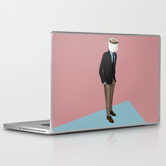 IT'S MORNING AND I THINK OF YOU Laptop & iPad Skin