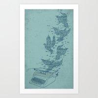 Freetype Art Print
