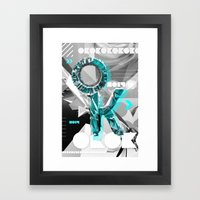 OK Framed Art Print