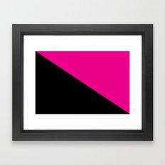 Queer power Framed Art Print