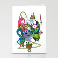 Adventure Time Fan Art C… Stationery Cards