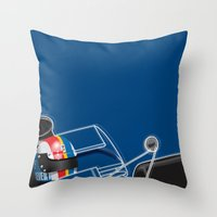 François Cevert, Tyrrel… Throw Pillow