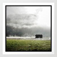L'inverse de la pluie  Art Print