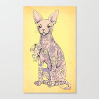 Cattoo Canvas Print