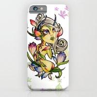Dark Tulip Fairy iPhone 6 Slim Case