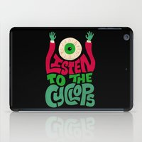 Listen To The Cyclops iPad Case