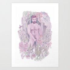 Nudist  Art Print