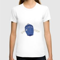 VWORP Womens Fitted Tee White SMALL