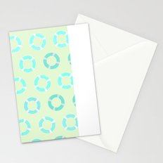 RING FLOAT PATTERN Stationery Cards
