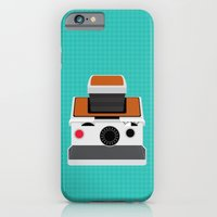 iPhone & iPod Case featuring Polaroid SX-70 Land Camera by mydeardear