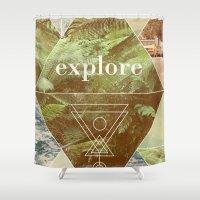 Explore - I Shower Curtain