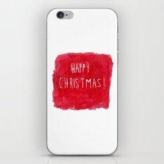Happy Christmas! iPhone & iPod Skin