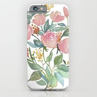 Floral Poster iPhone 6 Slim Case