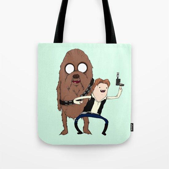 Space Adventure! Mans Best Friend Tote Bag