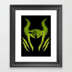 The Evil Fairy Framed Art Print