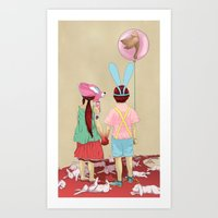 The Terrible Children Art Print