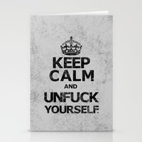 Keep Calm and...... (b) Stationery Cards