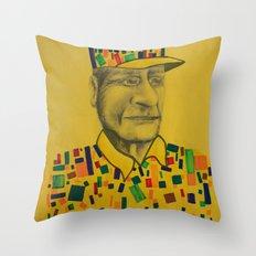 DESFRAGMENTACIÓN Throw Pillow
