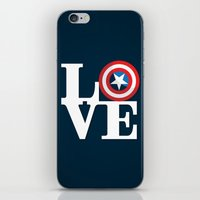 Captain's Love iPhone & iPod Skin