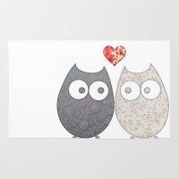 Owl Love Rug