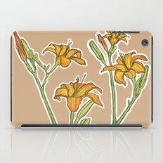 Orange lilies iPad Case