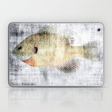 Grunge Fish Laptop & iPad Skin