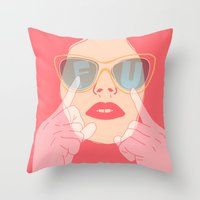 the subtle art of... Throw Pillow
